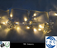 2x3m connectable White outdoor christmas security light curtain