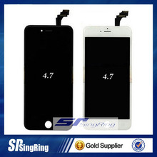 2015 factory selling wholesale china 4 Original for iphone 6 LCD for apple iphone 6 64gb lcd assembly with dust cover ,frame