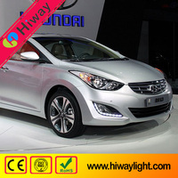 Improved version hottest dedicated !!! auto grille led drl fog light for Hyundai Elantra 2013-2015 car spare parts