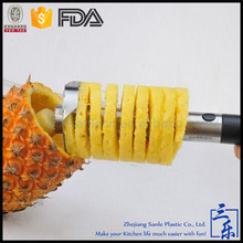 Comercial Manual de piña slicer