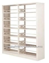 Modern library / muebles / madera mobiliario de biblioteca