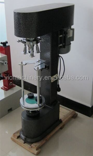 Low cost F-50D cap sealing machine,Bottle cap sealer machine