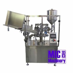 MIC-LL60 Automatic Aluminum Tube Filling Machine Cosmetic/Glue/ Polish Packing