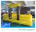 inflável cama de rodeio touro mecânico