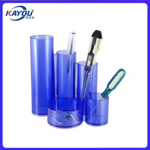 Double color Plastic Pen Holder moulding shell Pen Container injection mold