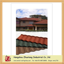 2015 Best Selling Metal Roofing Shingles Colored Stone Steel Roof Sheets