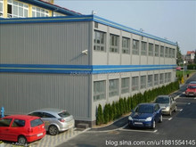 The school building modular construction container Prefab flatpack office/living room/ container house
