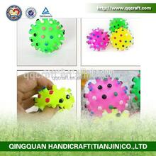 liwen pet toy: rubber hedgehog & natural rubber dog toy & rubber hamburger dog toys