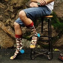 Men's Camouflage Necessary Joker Cotton Socks Mens Gradent Color Sport Socks Fashion Design Wholesale Tide Male Cotton Socks
