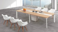 Gree series aluminum modern office furniture custom made OEM products office conference table
