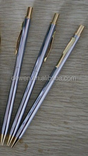 Very hot selling ---Cross pen with Click action metal ball pen & mechanical pencil stainless steel logo pen