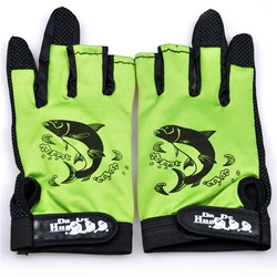 2015 New Fashional Neoprene Fishing Gloves Anti-Slip Comfortable Pesca Outdoor Sports Waterproof Breathable Fishing Gloves