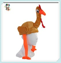 Unisex Adult Funny Thanksgiving Party Plush Turkey Hats HPC-0225