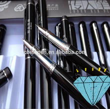 Hot new product for 2015 stationary 3d pen with logo print metal, fountain pen