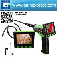 """Portable 3.5"""" Wireless TFT LCD Inspection Video Camera Borescope/ Endoscope/Zoom Rotate 1Meter Cable 9mm Waterproof Camera Head"""