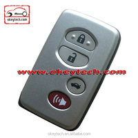 Best price toyota key case for toyota 4 button smart key cover for car key remote control toyota