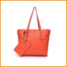 2015 high quality PU ladies shoulder tote bags fashion handbag for women