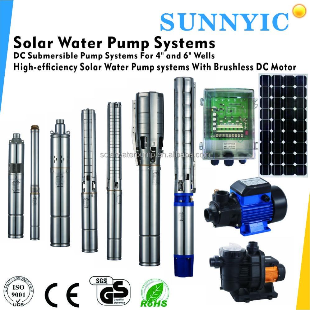 High Efficiency Brushless Dc Motor Solar Water Pump Buy