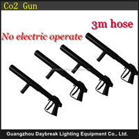 4PCS/LOT hand hold co2 jet / co2 gun machine DJ co2 gun / co2 cannon jet