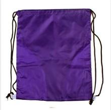 Factory Price Violet Laundry Felt Unisex Drawstring Bag