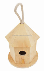 2015 year factory suppliers FSC&SA8000&ISO9001 cheap price outdoor wild garden wooden bird house for made in China