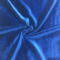 polyester & Spandex warp knitted fabric non-inverted velvet