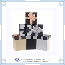 WHOLESALE GIFT BOXES FOR PACKAGING WITH BOWKNOT RIBBON LID