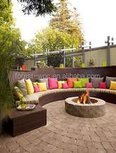 Traditional composite park bench,garden bench,WPC bench