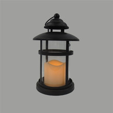 Linterna vela para la navidad, metal porta velas linterna