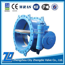 Low Pressure DN1000 PN40 butterfly valve flange