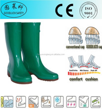 Oil Resistant Men's Safety Gumboots with Steel Toe