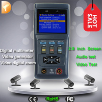 Digital multimeter CCTV Camera Analog security camera tester