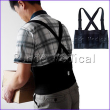Heavy Lift Back Support Belt&waist Brace with Adjustable Suspenders