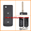 Modified 3 buttons flip key shell camry for toyota remote key case for toyota
