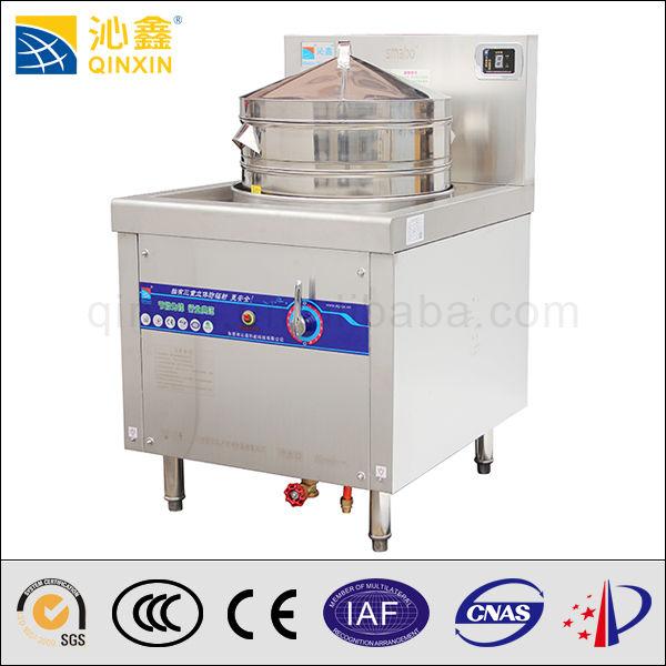 Stainless steel Electric steamer/commercial restaurant dim sum ...