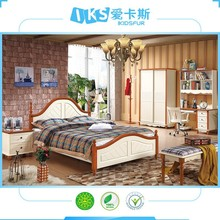 direct price pine wood fashion bed furniture 6102