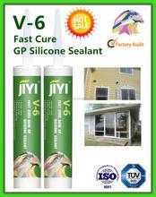 General Purpose acetic silicone sealant ,100% silicone sealant V-6