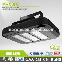 5 years warranty meanwell driver 120W led tunnel light flashing tunnel necklace led tunnelhanging led lights