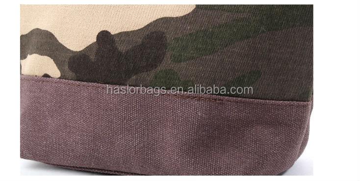 Belle motif de camouflage toile mini sac cosmétique pour les filles