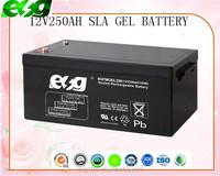 rechargeable VRLA telecom battery for inverter solar ups 12v solar system battery agm deep cycle batteries 12v 250ah