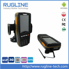 """4"""" touch screen Barcode Android handheld data collection devices with 3G WIFI"""