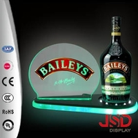 China Supplier Liquor Bottle Display Stand, Bottle Display Stand, Acrylic Bottle Display Stand