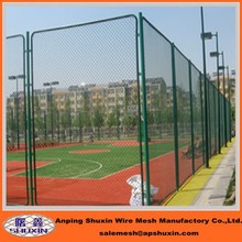 commercial /residential metal chain link fence/chain link fabric,framework