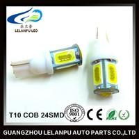 T10 COB 24SMD LED 12V Car LED Light Bulbs Auto LED Lamp Car Interior Led Light Furniture Head Light Led