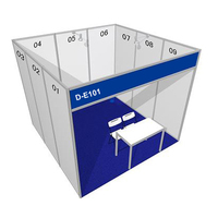 3x3 Standard Exhibition Booth Pvc Panel