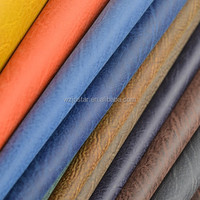 Wenzhou wholesale pu rexine leather 0.8MM pu synthetic leather for shoe