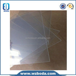 high density 4x8 foam forex pvc sheet with different thickness