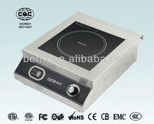 alta eficiencia de buena calidad 5000W cocinas de inducción industrial