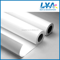 China manufacturer pvc self adhesive vinyl rolls and sheets for solvent/ecosolvent ink printing