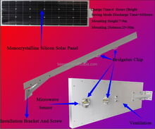 TOP selling high quality integrated 30w, 60w solar led street light/ solar panels for street lights